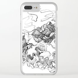 Jungle Boogie :: Sayulita, Mexico Clear iPhone Case