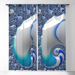 Blue Enamel Whirlpool Blackout Curtain