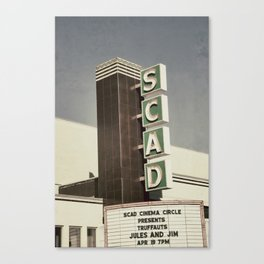 SCAD Theater Canvas Print