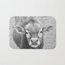 Callie the curious cow Bath Mat