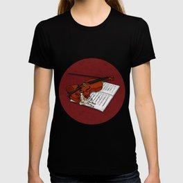 Music & Puppet T-shirt