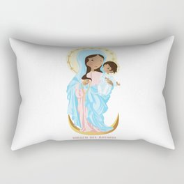 Our lady of the Rosary Rectangular Pillow