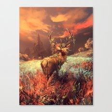 Breath of the wild Canvas Print
