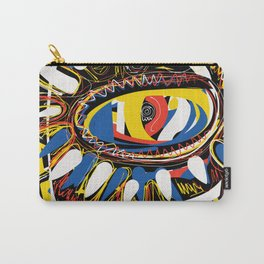 The Third Eye Primitive African Art Graffiti Carry-All Pouch