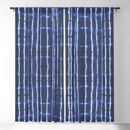 Blue bamboo Blackout Curtain