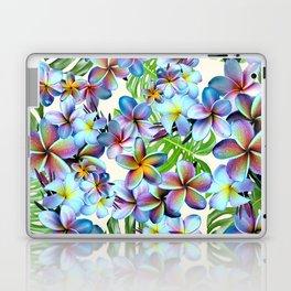 Rainbow Plumeria Pattern Laptop & iPad Skin
