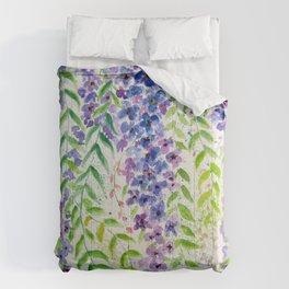 Mauve Creepers Comforters