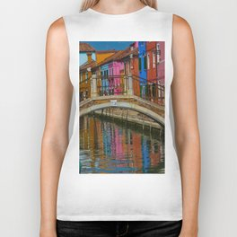 Bridge of Reflection Biker Tank