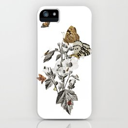 Insect Toile iPhone Case