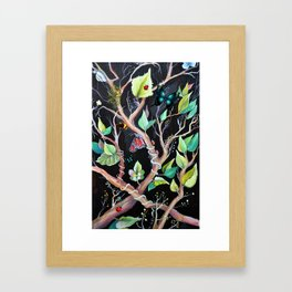 Joy of butterflies Framed Art Print