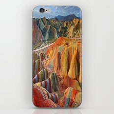 colours mountains iPhone & iPod Skin