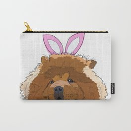 Happy Easter - Chow Chow Carry-All Pouch