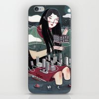 "vancouver iPhone & iPod Skins featuring ""Vancouver"" Illustration by Julia Iredale"