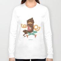 zen Long Sleeve T-shirts featuring Zen by carvalhostuff