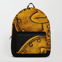 Gold Coin Ape Backpack