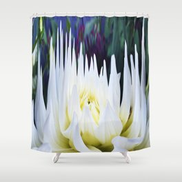 380 - Abstract Flower Design Shower Curtain