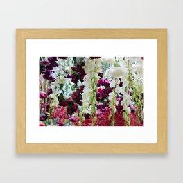 Hanging Flowers 2 Framed Art Print