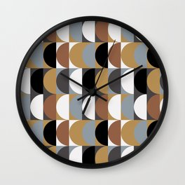 Seventies Style Wall Clock