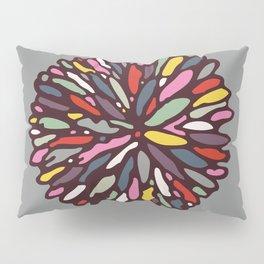 Retro Dahlia Pillow Sham