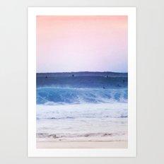 #beach Art Print