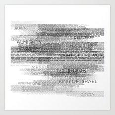 Names of God Art Print