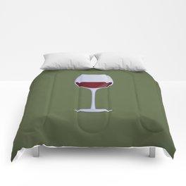 Red Wine Comforters