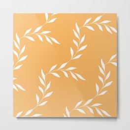 Leafy Orange #1 Metal Print