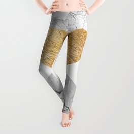 Geometric texture V Leggings