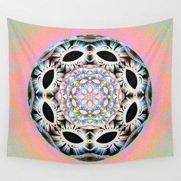 Peace is Power Soul Aboriginal Orb Mandala Wall Tapestry