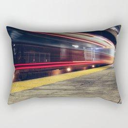 Traveling on Light Streams Rectangular Pillow