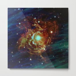 Variable Star Metal Print