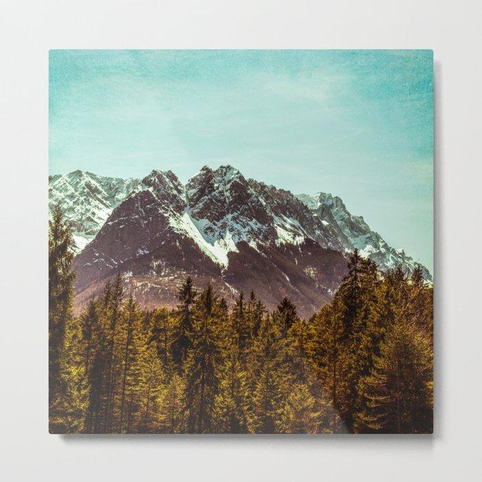 Alpspitze till Zugspitze Metal Print