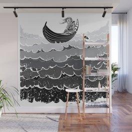 Death At Sea Wall Mural