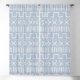 Powder Mud Cloth Blackout Curtain