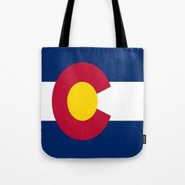 flag colorado,america,usa,south,desert, The Centennial State,Coloradan,Coloradoan,Denver,Springs Tote Bag