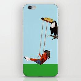 toucan swing iPhone Skin