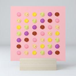 Blush Pink Ice Cream Mini Art Print