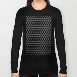 Perforated Pattern Long Sleeve T-shirt