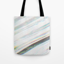 White Noise Tote Bag