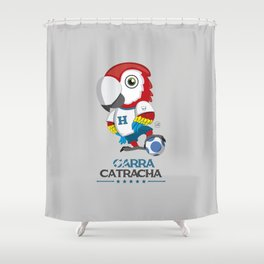 Garra Catracha Shower Curtain