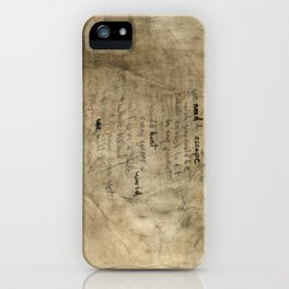 We need to escape iPhone Case