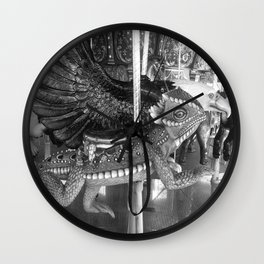 Carousel part two Wall Clock