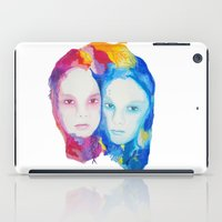 sisters iPad Cases featuring Sisters by Caitlyn Murphy