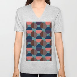 Geometric Abstract #1 Unisex V-Neck