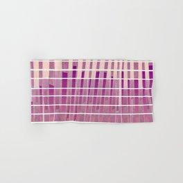 Purple Lines S18 Hand & Bath Towel
