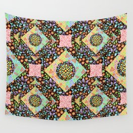 Boho Chic Patchwork Wall Tapestry
