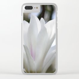 real magnolias Clear iPhone Case