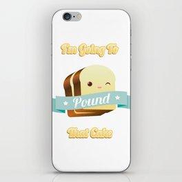 Pound Cake iPhone Skin