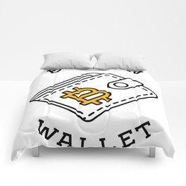 Bitcoin Wallet Comforters