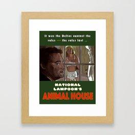 National Lampoon's Animal House Framed Art Print